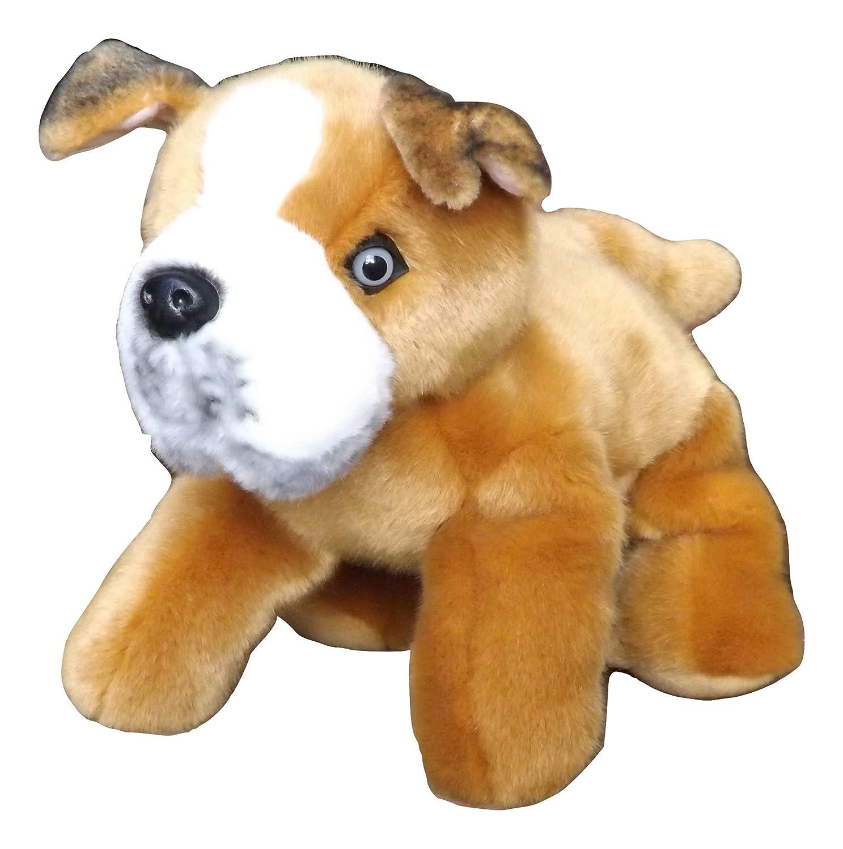 Amazon Com Pitbull Puppy Plush Toy Dog 12 Stuffed Animal Pitbull