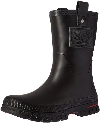 Polo Ralph Lauren Men\u0027s Warrington Rain Shoe, Black, ...