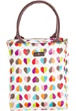 Confetti Heart Insulated Zipped Lunch Tote With Handle by Confetti