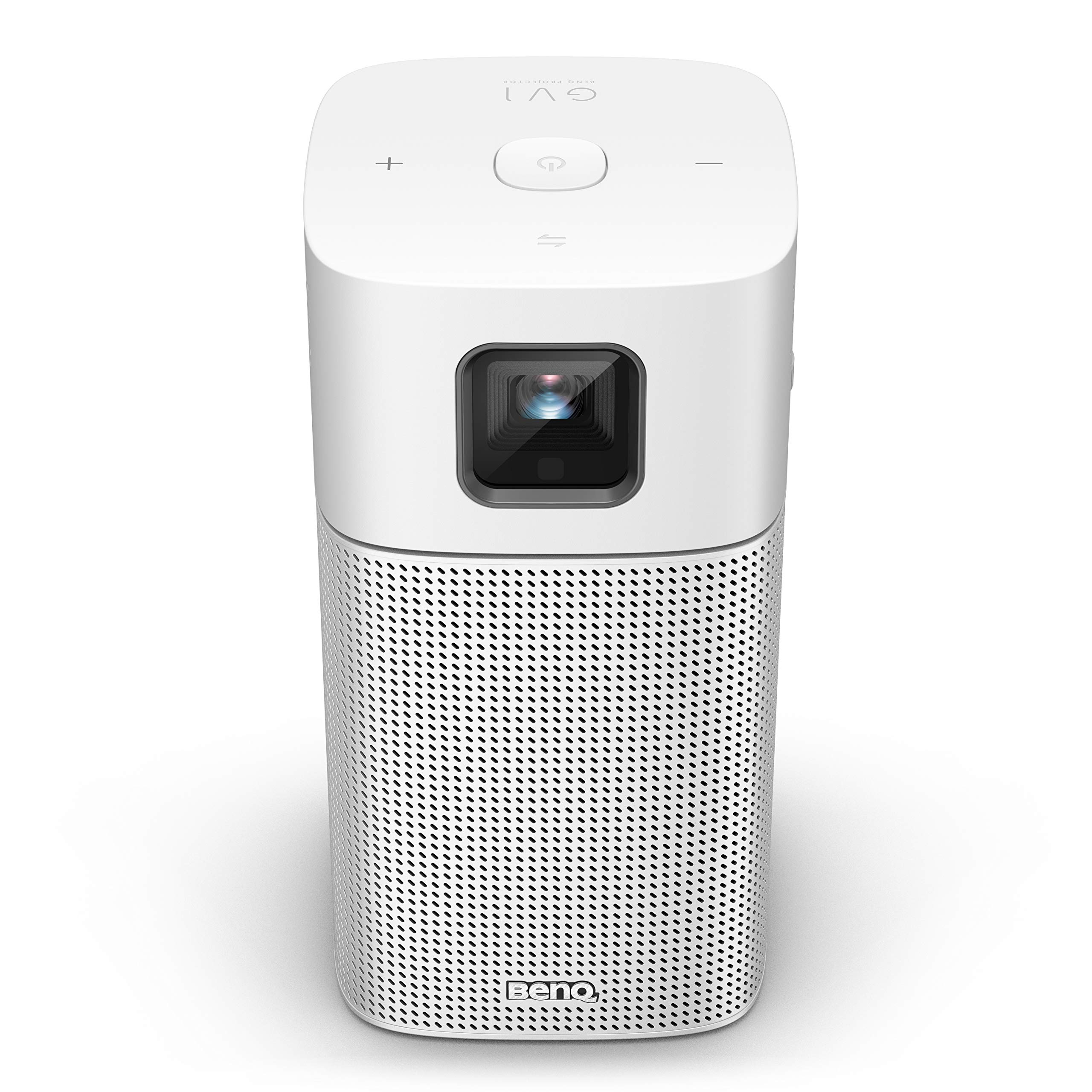 BenQ GV1 Mini Beamer (LED, WVGA, 854 x 480 Pixel, 200 ANSI Lumen, USB C, bluetooth 4.0) silber/grau