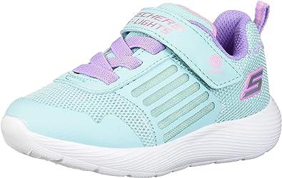 Skechers Kids Girl's DYNA-Lights Shoe