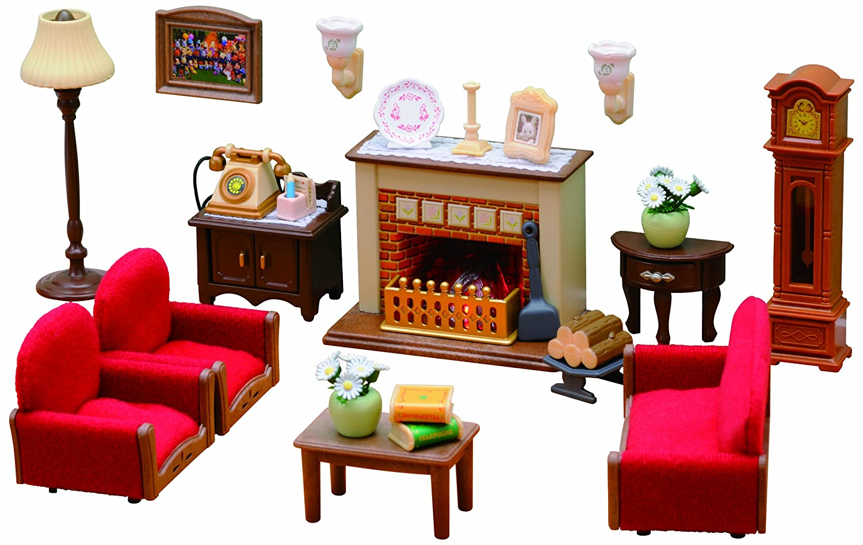 Sylvanian families luxury living room set