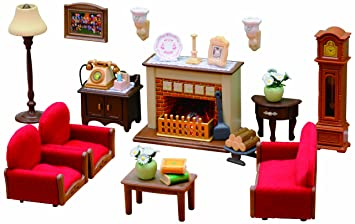sylvanian families luxury living room set - Sylvanian Families Living Room Set