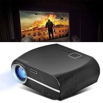 Proyector, Proyector De Video con Soporte De 180 Pulgadas ...
