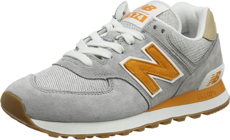 new balance 574 arancioni uomo