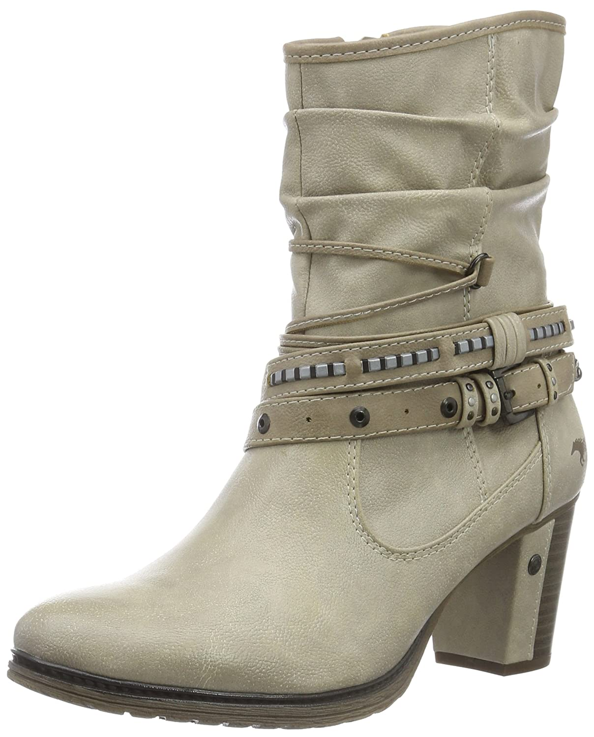 Mustang Women's 1199 504 243 Ankle Boots, Off White (243