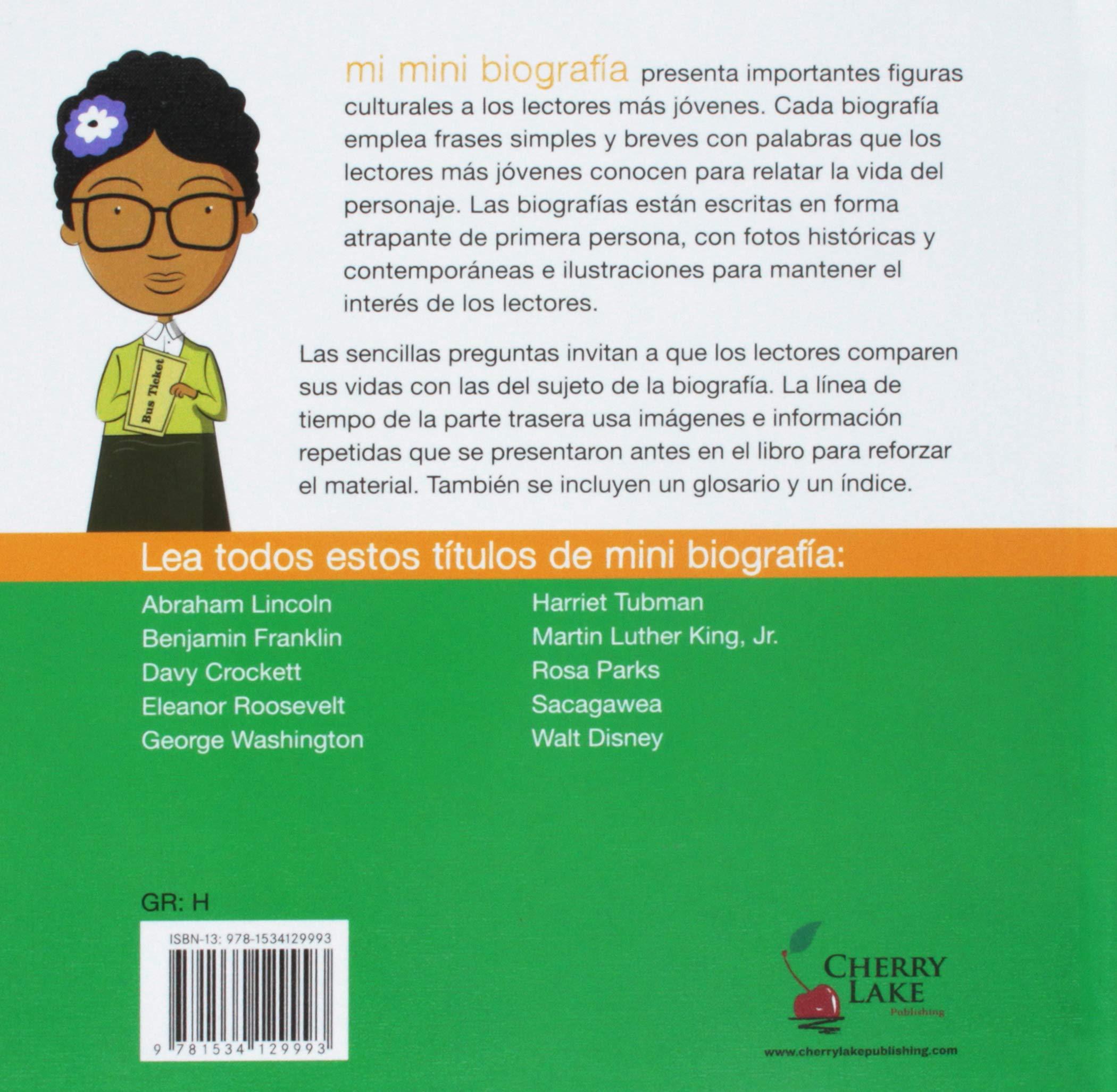 Amazoncom Rosa Parks Mi Mini Biografia My Itty Bitty