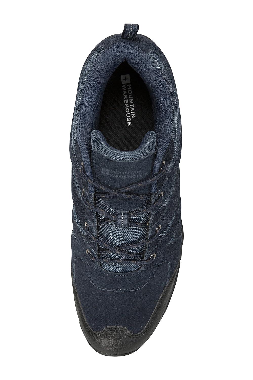 Resistentes Zapatillas de monta/ña Transpirables para excursiones Azul Marino 43 Mountain Warehouse Zapatillas Outdoor para Hombre Ante Suela de Goma Zapatillas de Verano Ligeras