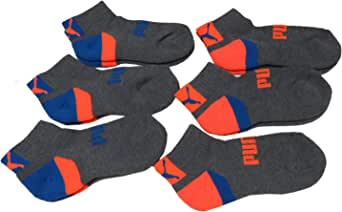 Childrens UK 6 up to Teens UK 8 PUMA Sports Socks Kids Quarter 2 Pair Pack