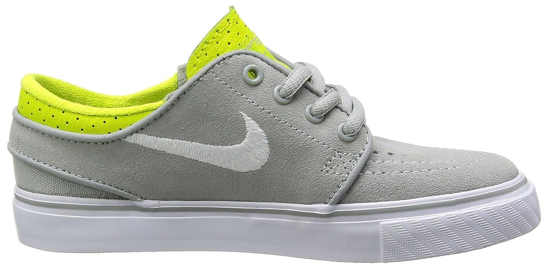 Nike Stefan Janoski Skate Shoe Little Boys Base Grey//Venom Green//White 12.0