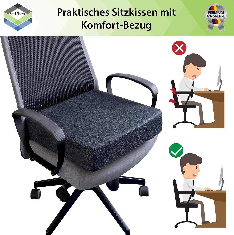 altezza 10 cm per una seduta comoda e verticale Cuscino ...