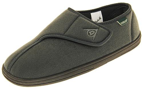 Dunlop - Zapatillas de Estar por casa de Sintético para Hombre, Color Gris, Talla 41 EU: Amazon.es: Zapatos y complementos