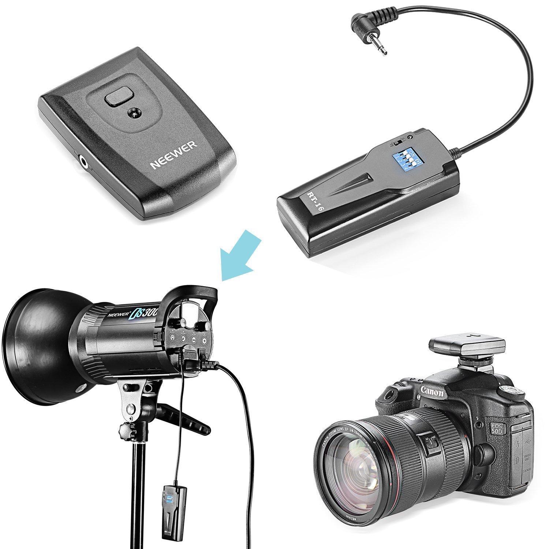 Ricevitore Set Neewer/® RT-16 Wireless Studio Flash Trigger