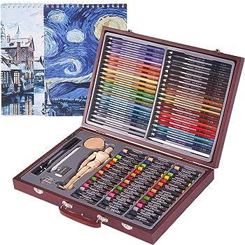 93-Piece Cool Bank Deluxe Art Creativity Set