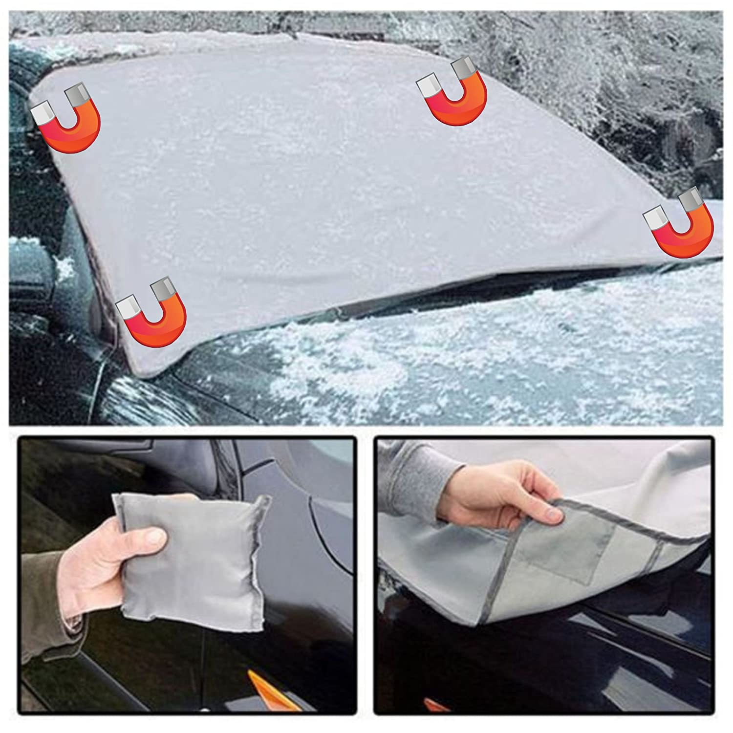 XtremeAuto® Universal Magnetic Car Windscreen Frost / Ice / Snow / UV Protection Cover XtremeAuto®