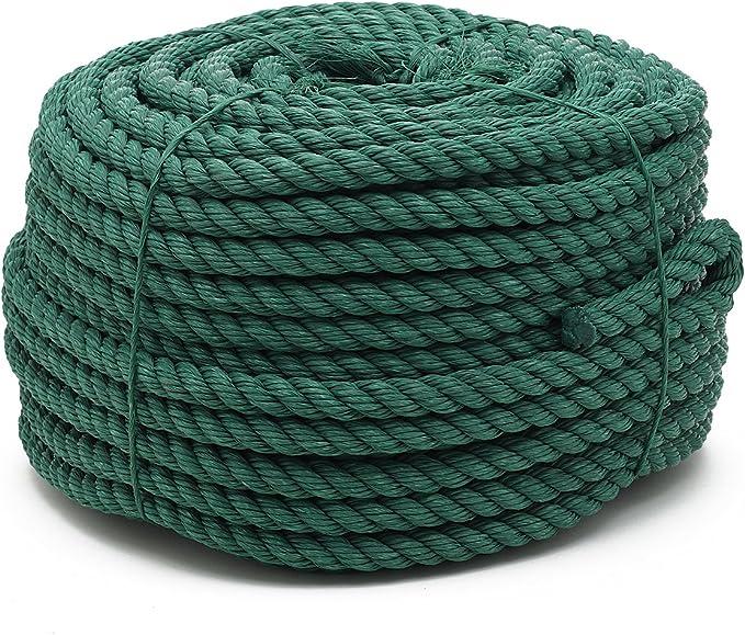 Flandria 23027 cuerda (polipropileno, diámetro 15 mm x 60 m, verde