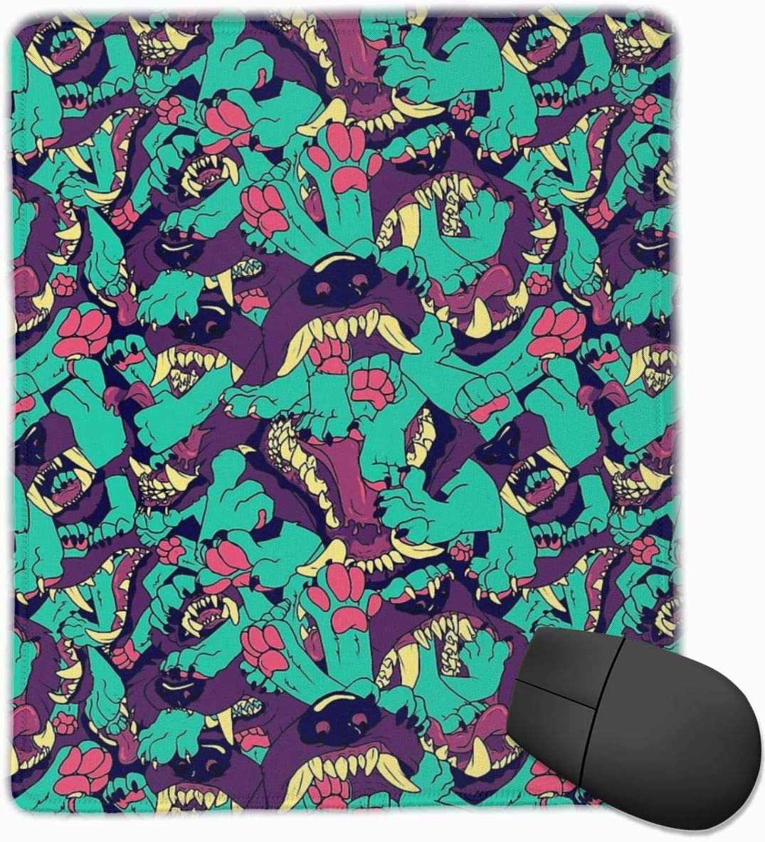 KEEHUA Tokyo Mew Mew Group Non-Slip Rubber Mousepad Gaming Mouse Pad with Stitched Edge 10x12 in