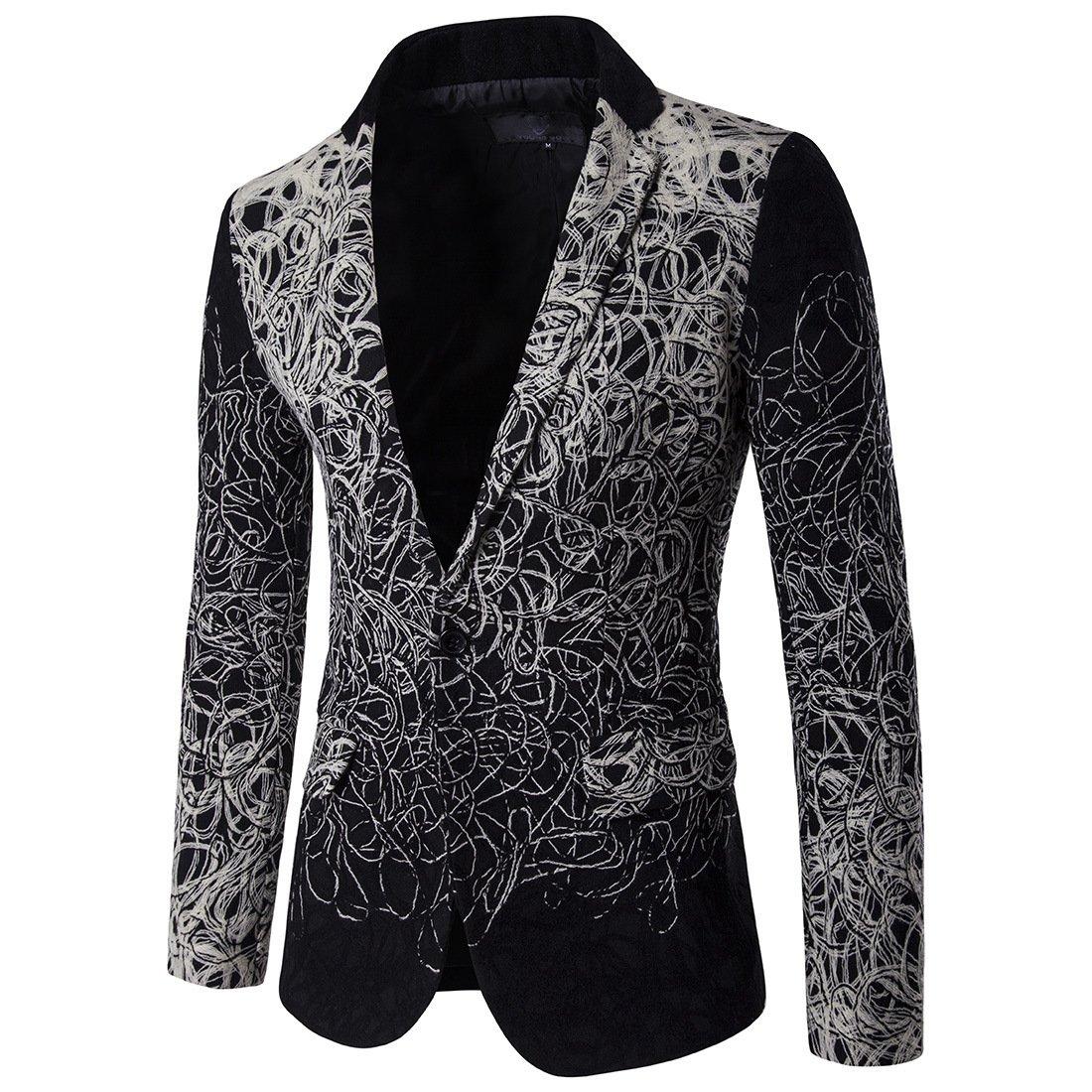 Anzug für männer, wie für die männer, die Blume für Amerikaner, schmalen Kragen für Mich, anzugträger,schwarz,XXL