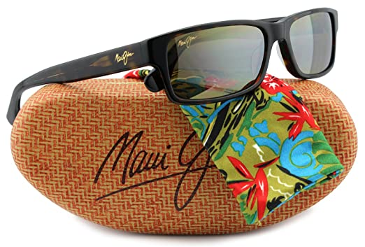 0195b97fe1ea Amazon.com  Maui Jim MJ298-10 Hidden Pinnacle Sunglasses Tortoise w  Bronze  H298-10 55mm Authentic  Clothing