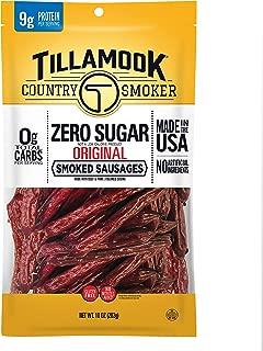 product image for Tillamook Country Smoker Zero Sugar Original Keto Friendly Smoked Sausages, 10 Ounce