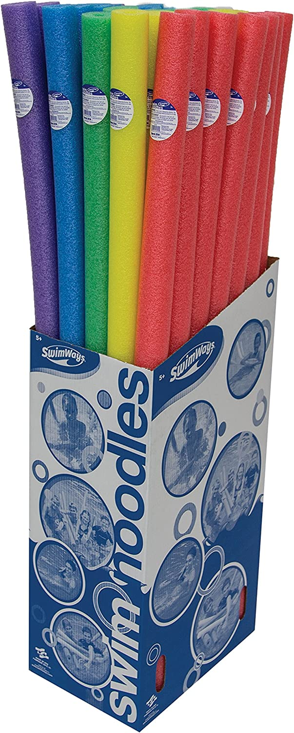 SwimWays Standard Swimming Pool Noodles -(Runner Up) Amazon's Choice