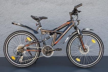24 Zoll Mtb Zundapp Fahrrad Shimano 21 Gang Stvzo Disc Scheibenbremse Amazon De Sport Freizeit