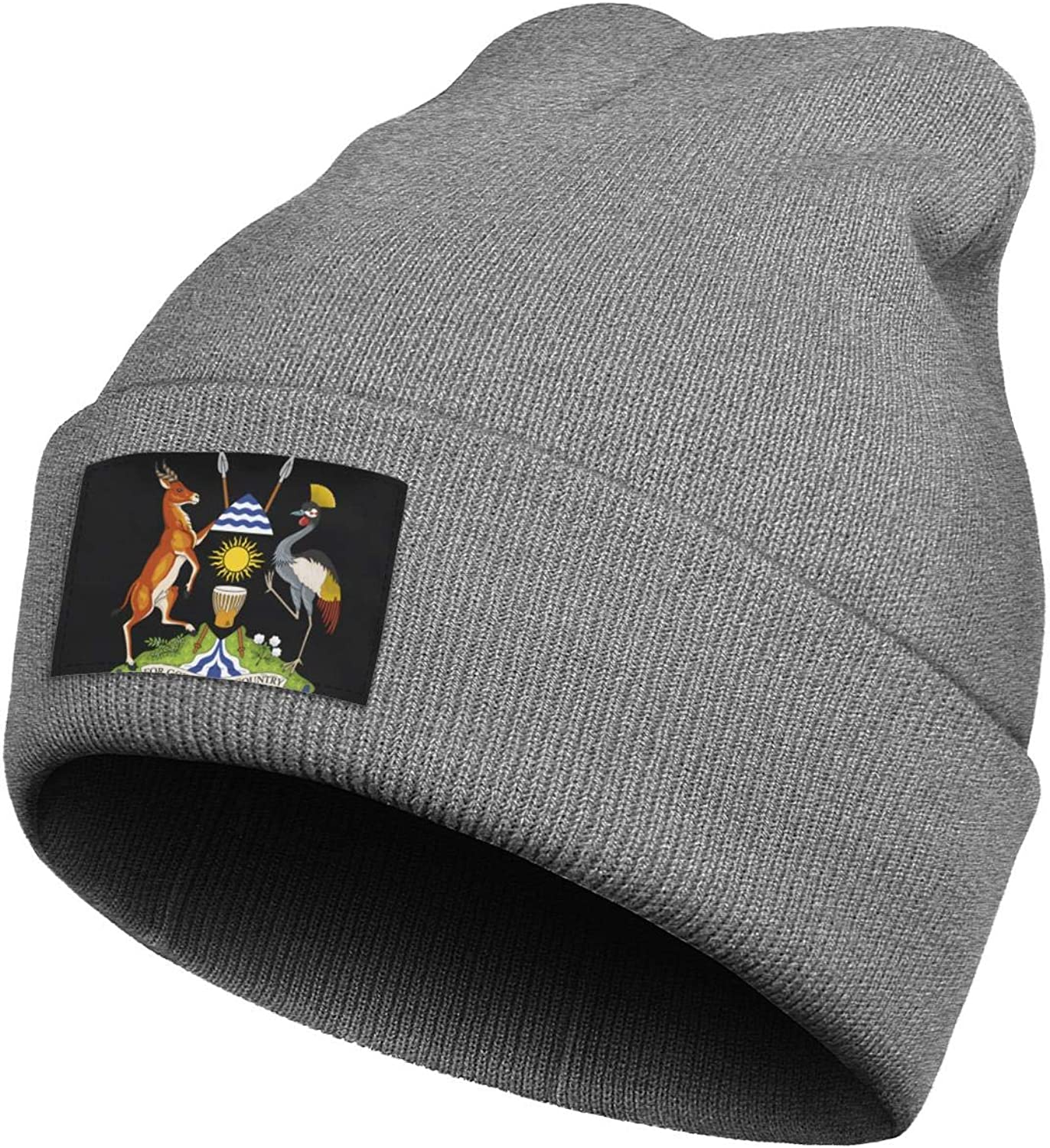 Amazon Com Beanie Hats For Men Women S Uganda Seal Or National Emblem Acrylic Watch Cap Clothing