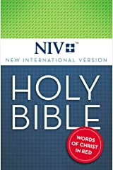 NIV, Holy Bible, eBook, Red Letter Kindle Edition