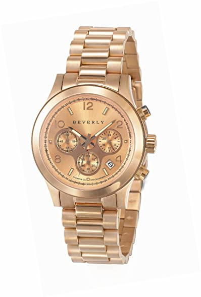 Champs & Co. Beverly Casa Blanca Womens DL9 3RG/RG5 Stainless Steel Rose Gold