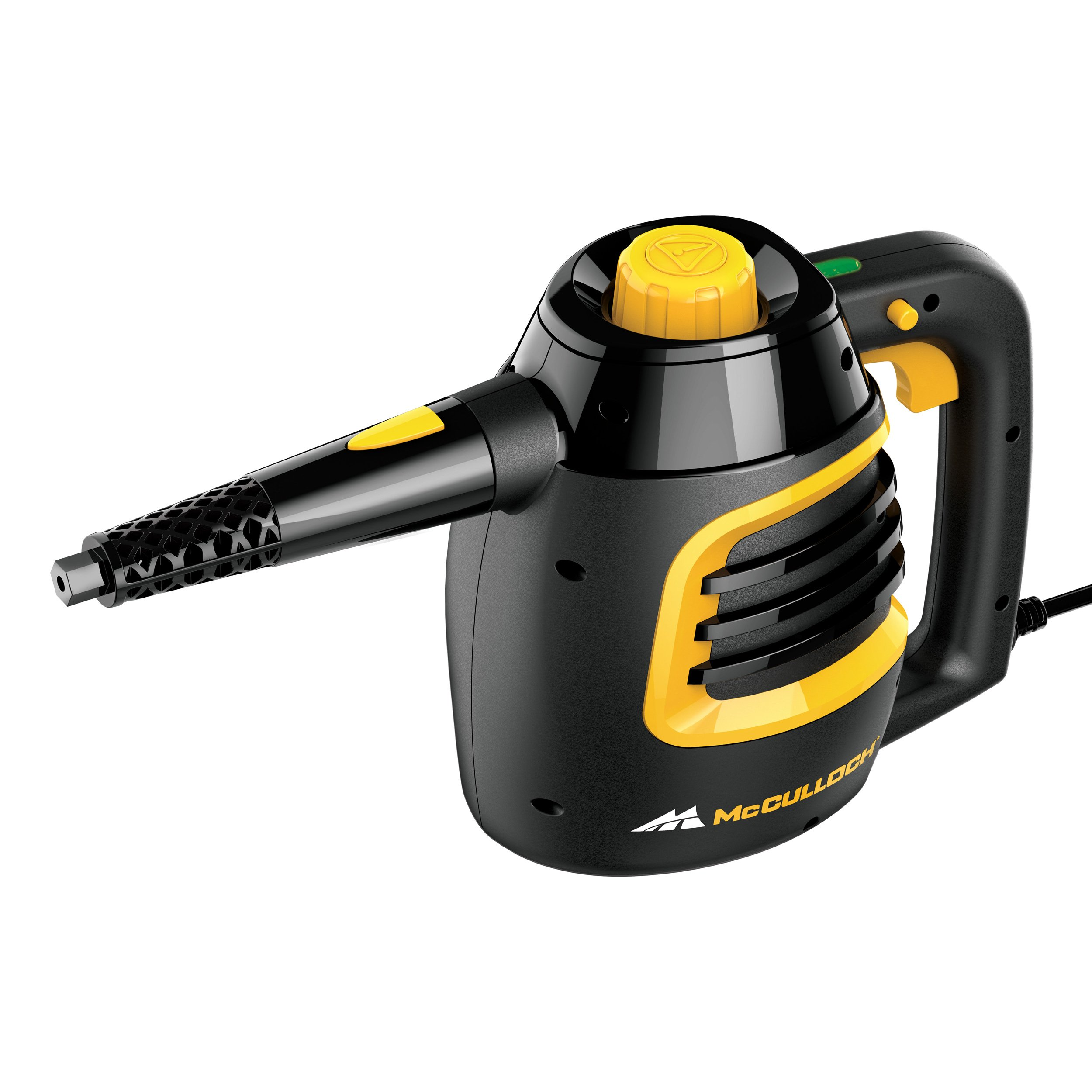 McCulloch MC1230 Handheld Steam Cleaner, Black by McCulloch