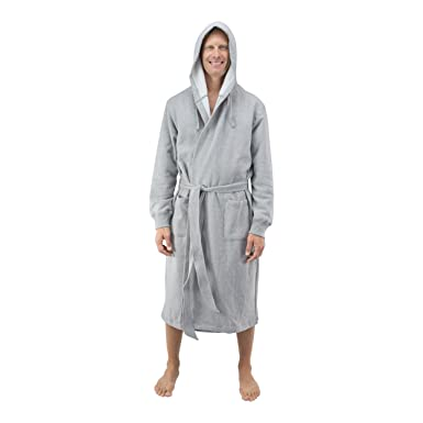 a819b31983 Comfy Robes Personalized Men s Hooded Sweatshirt Robe