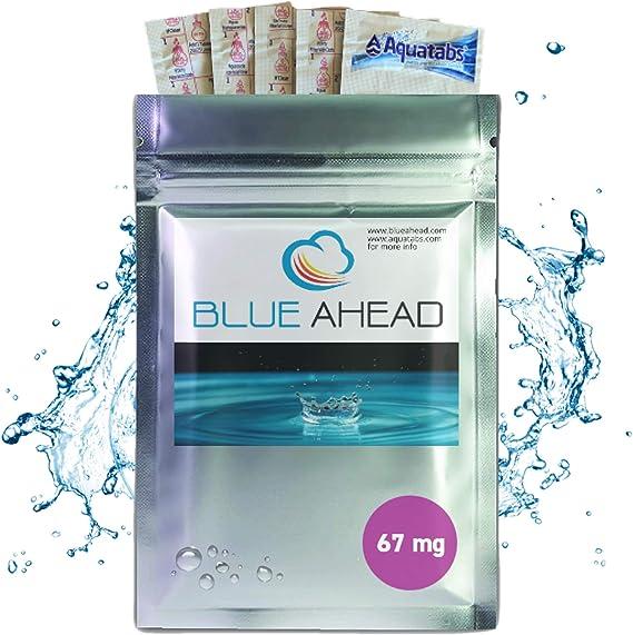 Water Purification Treatment Tablets Aquatabs 8.5mg NaDCC Prep Army Hiking Oasis