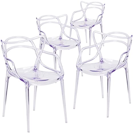 Amazon.com: Muebles Silla De Apilamiento Nesting Series ...