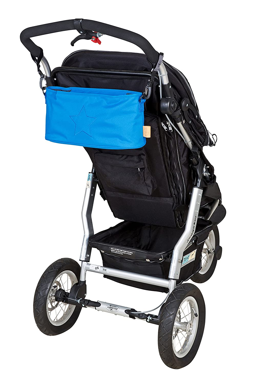 Organizador para cochecito de beb/é azul azul L/ässig