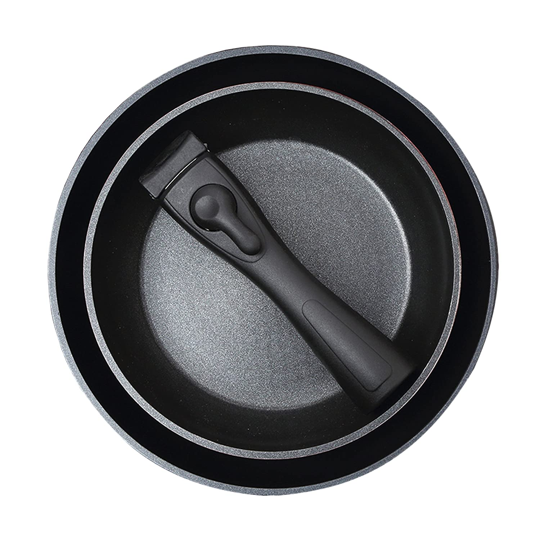 Bergner Click & Cook - Sartén, 26 x 5 cm, Aluminio Forjado: Amazon.es: Hogar