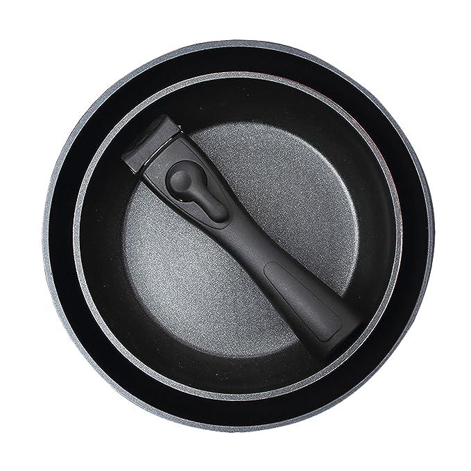 BERGNER - Sartén Grill - Dimensiones: 28x28x4.5 cm - Material: Aluminio Forjado - Apto para Inducción: Amazon.es: Hogar