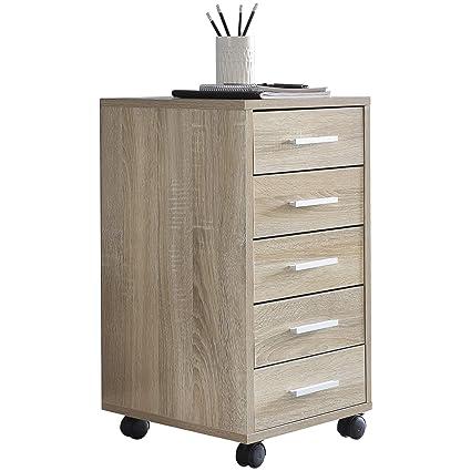 Schubladenschrank Rollschrank Rollcontainer Schrank Bürocontainer Büro Rollen