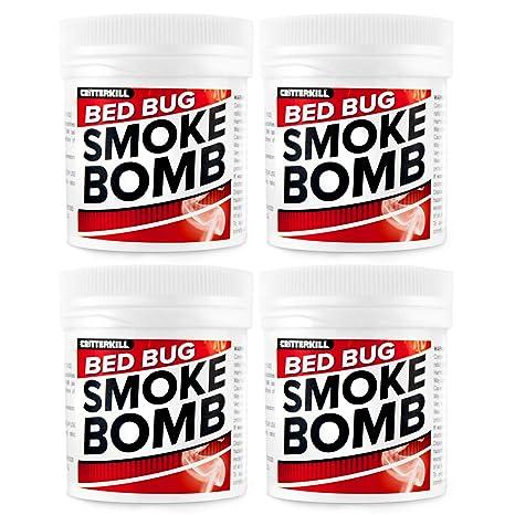 Bomba de humo XL Insecticida contra chinches, 15 g, para ...