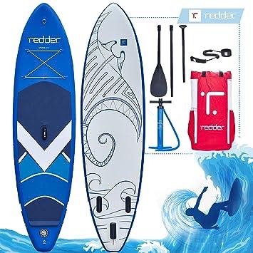 redder Tablas Paddle Surf Hinchables Doble Capa Utopia All Round Tabla Stand Up Paddle - Kit