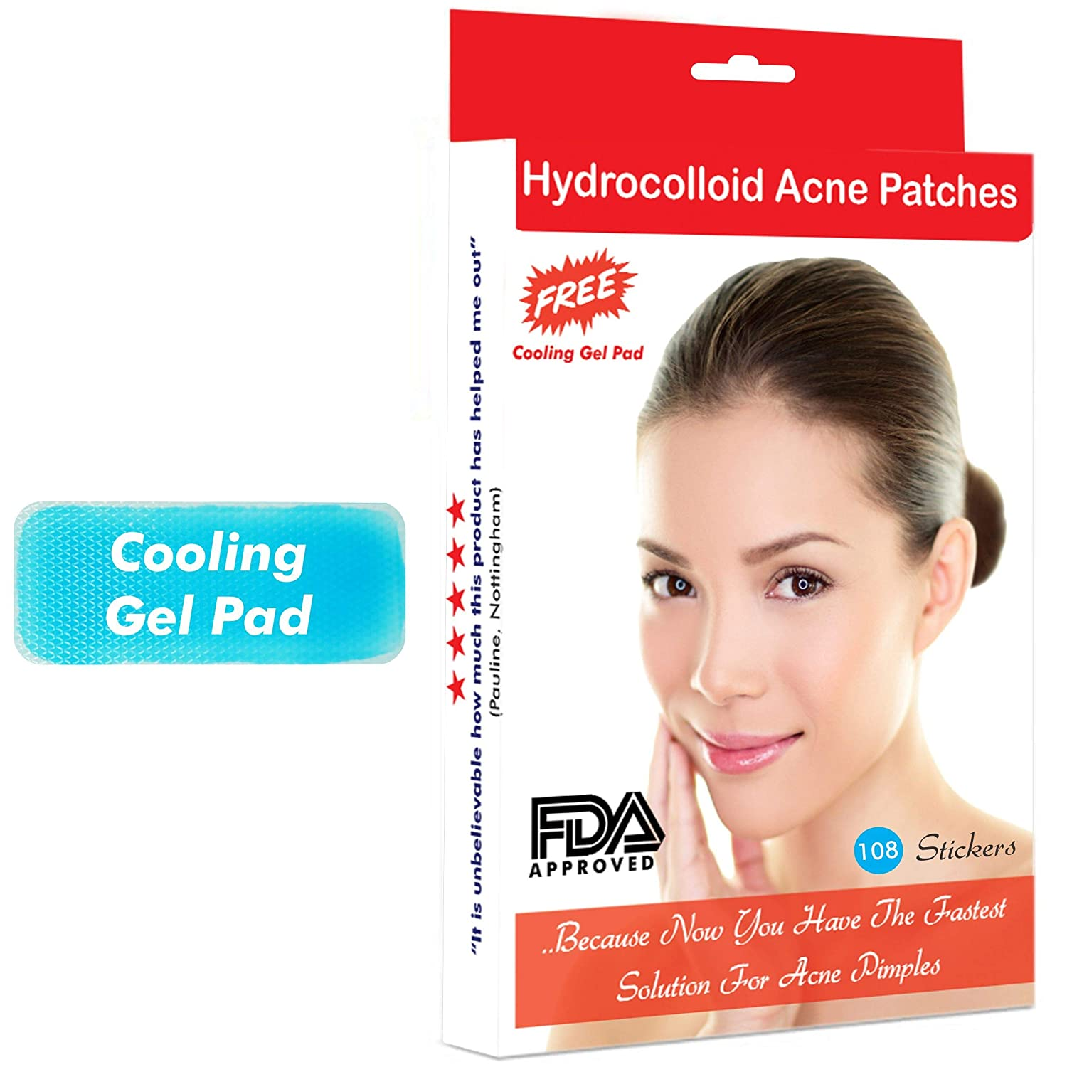 Treatment For Spot Pimples Blemishes Hydrocolloid Acne Patches 108 Patches