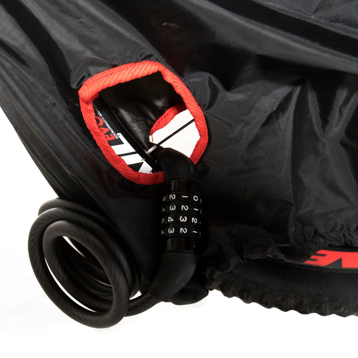 MarLine Bike Cover Outdoor Waterproof Bicycle Cover Dust Snow Proof with Lock Hole and Reflective Straps by Marline (Image #4)