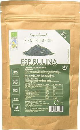 Espirulina ecológica en polvo con aporte nutricional de Omega ...