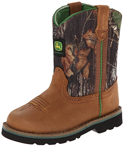 cb5f02755 John Deere 1188 Western Boot (Infant),Tan/Camouflage,4 M US