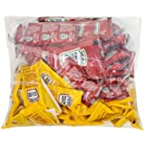 Heinz Condiment Packets Ketchup and Mustard (100 Total; 50 Each Flavor)