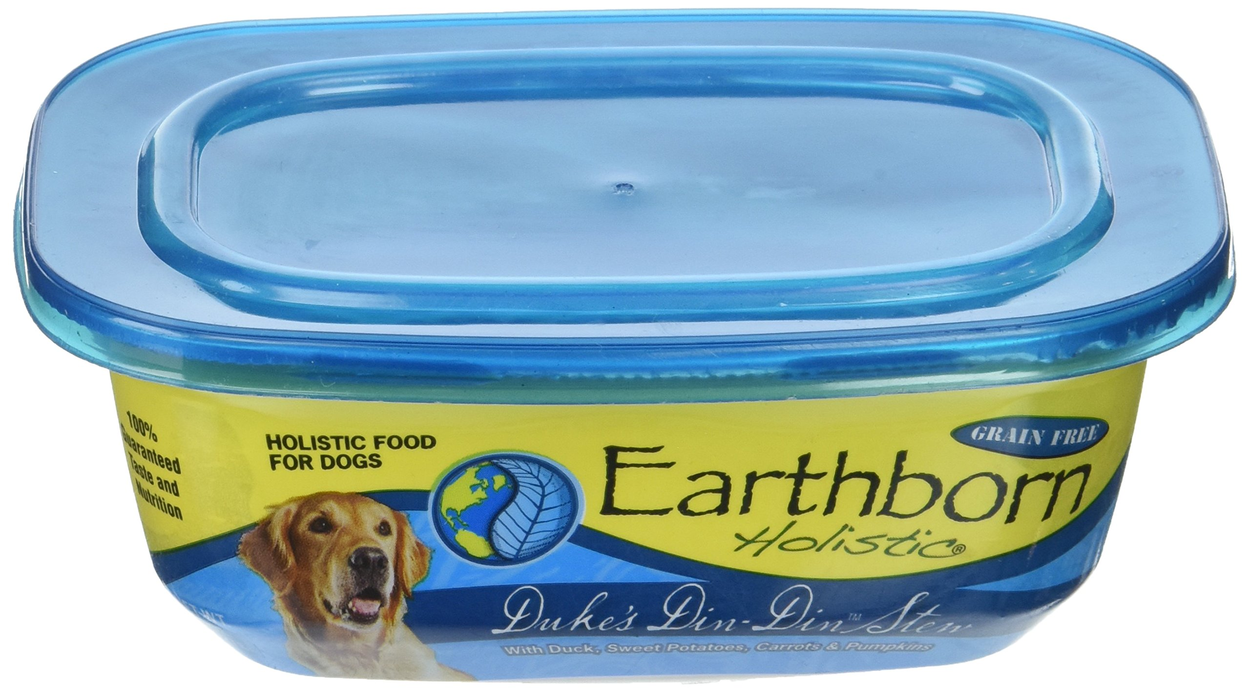 Earthborn Holistic Duke'S Din-Din Stew Grain Free Moist Dog Food, 8 Oz, Case Of 8