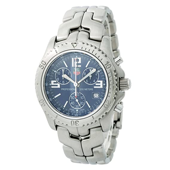 7d6358f12de5f Tag Heuer Professional quartz mens Watch CT1110 (Certified Pre-owned)  Tag  Heuer  Amazon.ca  Watches