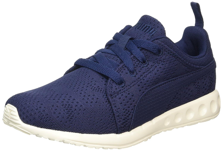 Puma Carson Runner Camo Mesh Eea, Zapatillas de Running Unisex Adulto 45 EU Azul (Peacoat-whisper White 15)