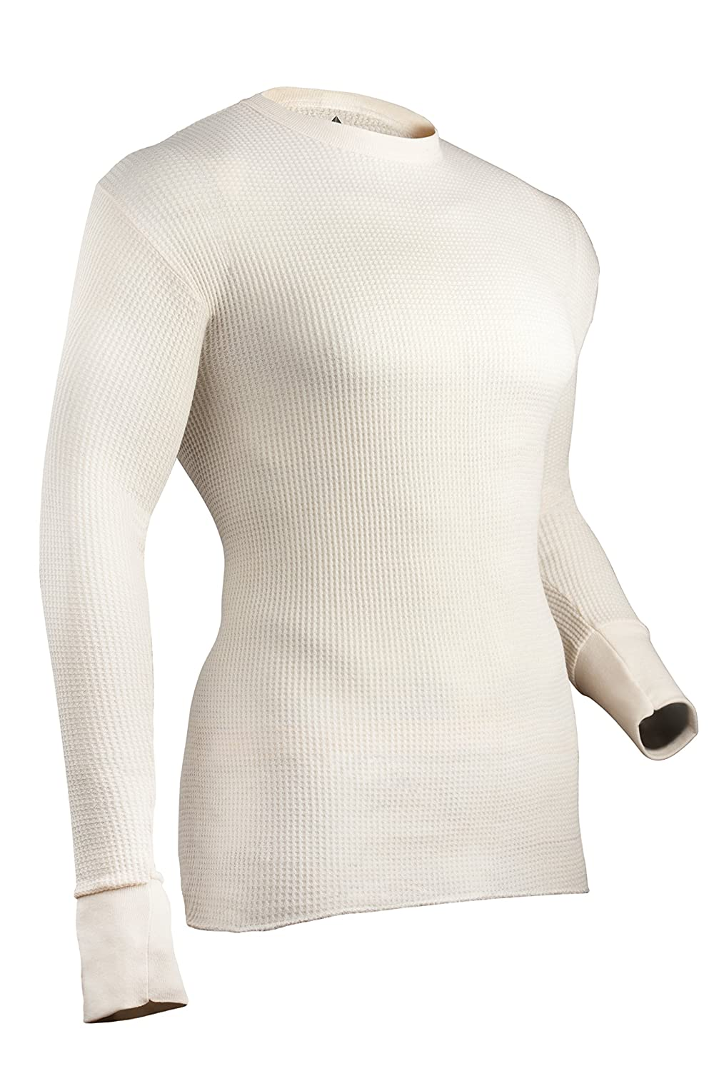 Indera Men's Cotton Waffle Knit Heavyweight Thermal Underwear Top ColdPruf Baselayer 839LS