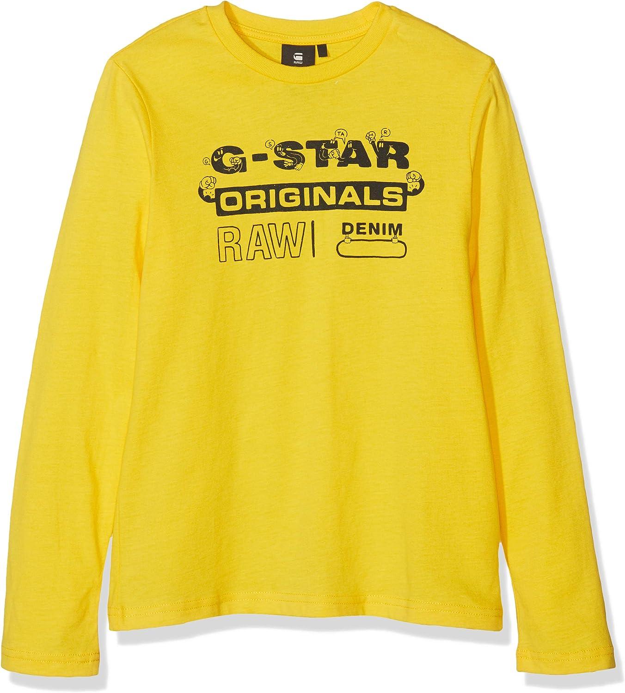 G-STAR RAW Sp10015 LS tee Camiseta de Manga Larga para Ni/ños