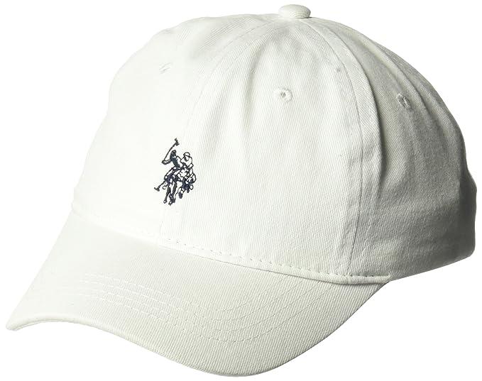 U.S. Polo Assn.. - Gorra de béisbol con Logotipo de Caballo de Sarga Lavado cc1f42250dc